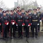 Cold rainy weather didnt stop @gpsmedia from marching in remembrance 2day  @HeroesInLife #Proud2Serve https://t.co/OESQeffHne