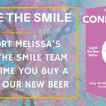 looking forward to Friday celebrating the launch of my Smile beer join us it would b fab to meet you🍺 https://t.co/gox4fdMlFy #sthelenshour