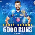 Paltan, @ImRo45 has completed 6000 runs in T20 cricket! #DilSeIndian #RPSvMI https://t.co/wdd1vN5pIG