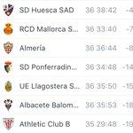A pesar de haber perdido, seguimos fuera de zona de descenso pero sólo por un punto. #UDAlmeria #Almería https://t.co/wf07VKj5yh