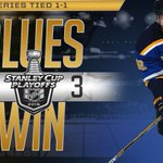 GOAL! @dbackes42 scores and the @StLouisBlues win in overtime! #StanleyCup https://t.co/lAR7ASY5oh