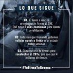 Estos son los pasos a seguir para el referendo revocatorio. Dale RT para que Vzla se entere. #VenezuelaFirma https://t.co/Uqrno2zBc1