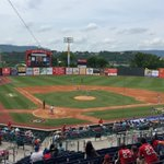 #Lookouts jump out to a 1-0 lead in the first against the #Biscuits @ChattLookouts @WRCBsports https://t.co/xjmUykprtk