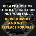 Damage to your #tyres? When your #drive Kumho, well replace them for free #SheffieldIsSuper https://t.co/pcKWfsRdZk https://t.co/gV1o7hbl1s