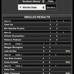 MVC WTEN Finals | Shockers win their 8th-straight MVC Tournament with a 4-0 victory over SIU! #watchus #mvctennis https://t.co/Fr3tetl1ox