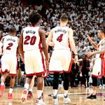 Your @MiamiHEAT will face either Indiana or Toronto in the #WhiteHot 2nd round. Game 1 is scheduled for Tuesday. https://t.co/6VPiYcmPtU