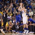Blazers. Warriors. It's go time. Game 1 tips off now! https://t.co/hWN3kzV5bu