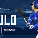 #Tulo. Gone-zo! @BlueJays take a 5-1 lead on his 3-run HR in the 9th! #OurMoment https://t.co/AuMqD4mlch