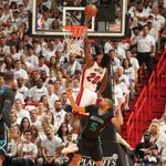 Miami has now won 10-straight playoff games when scoring 100+ points. https://t.co/tuXRnAR9fW
