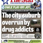 Sheffield suburb overrun by drug addicts: A special report features in The Star on Monday - plus #swfc seal playoffs https://t.co/lBQkqTRoJS