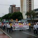 Así transcurrieron las marchas en Bucaramanga en el #DíadelTrabajo https://t.co/9sddesZzjA https://t.co/2CF0uaNaOn