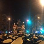 """Última revirá para San José Obrero antes de efectuar su entrada. Suena """"La Saeta"""". @jovensjo #SJO16 https://t.co/I8FHzVpHVc"""