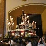 """A la 23:11 tras """"Himno a San Jose Obrero y Marcha Real"""" por @LosGitanosSM entra San Jose Obrero @jovensjo #SJO16 https://t.co/pieatBjZcF"""