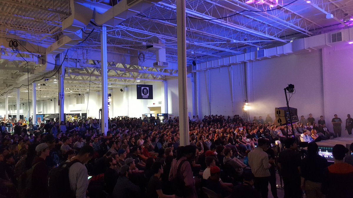 Almost one fourth of the venue I think. @NthusiastGaming https://t.co/3je0XW4k4D