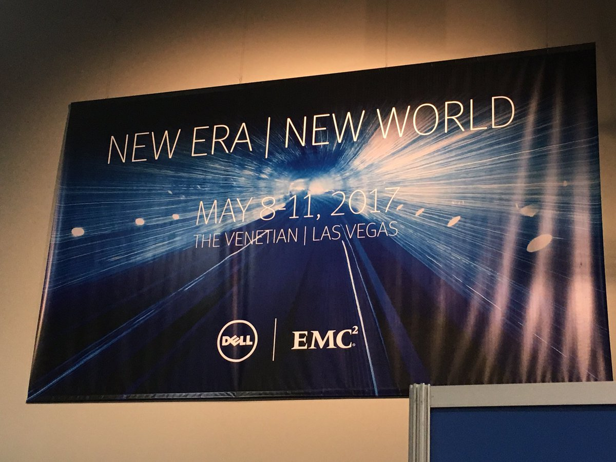 The last #EMCWORLD ? Think the show is in Austin next year? #DellEMC show May 2017 in Vegas. https://t.co/fAFEoQAkQx