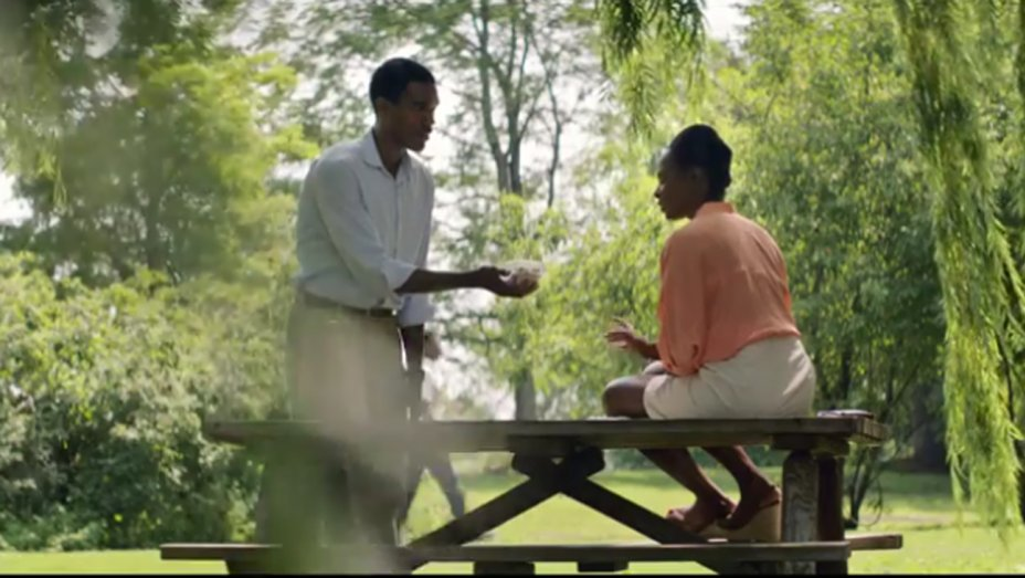 Watch a young Barack and Michelle Obama go on their first date in 'Southside With You' peek