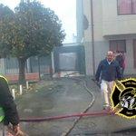F37 se encuentra en Alarma de Incendio calle Gamero CB Chillan @bomberoschillan #Chillan https://t.co/7SoVXMDy75