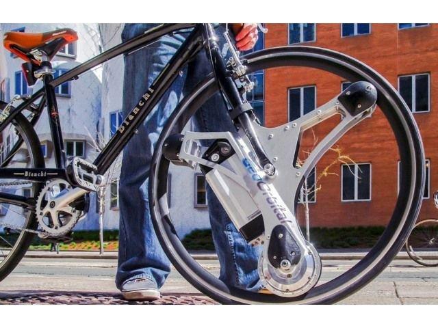 自転車を60秒で電動アシスト化 ...