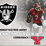 @229kd Kenneth Durden of @YoungstownStFB Signed w/ @RAIDERS! Congrats & Excited For U! #JackBoyz #WhosNext #GoGuins https://t.co/vwdo8coCfx