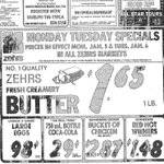 Ad for #Zehrs Markets January 2nd, 1981 edition of #Guelph Mercury @ZehrsHartsland @TeamImperial559 @ZehrsClairfield https://t.co/qb2YqUKq4C