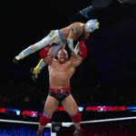 Thats right. RYBACK had a really good match. He held his own with Kalisto #WWEPayback https://t.co/dFNnTPhH5L