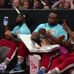 Better-than-ringside seats for #TheNewDay at #WWEPayback. See them streaming live: https://t.co/PZyg4E3k8Z https://t.co/uF68PkC22u