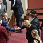 Senator Pat Dodson was sworn in as a senator for Western Australia this morning https://t.co/WuHKvRLrUY