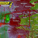 Tornado warning for Clinton & Boone County. Tornado on the Ground #INwx TAKE COVER NOW!!! https://t.co/ERN8qzWZbf