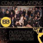 Congrats 2 #BoldandBeautiful 4 its #DaytimeEmmys WIN 4 Outstanding Drama Series Writing Team https://t.co/GO6RuohS63 https://t.co/LAuI3nTU3k