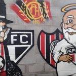 Alguma Dúvida que nos representa na Argentina ?  Grafite no estádio do chacaritas https://t.co/xn2DwLjJfY