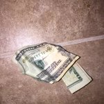 I just found $20 in my pants pocket 😭 somebody got some explaining to do 😳 https://t.co/8EIOxKTmJ3