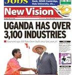 Get a copy of the #NewVision & #Bukedde @bukeddeonline @newvisionwire @Airtel_Ug @UrbanTVUganda @cbusinge https://t.co/p4Y4rOlIca