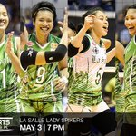 Catch the new UAAP womens volleyball champions DLSU Lady Spikers tomorrow on #CNNPHSportsDesk at 7pm. https://t.co/m2kfGbZIkp
