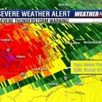 "Urbana, New London, Sandy Bend, McGlendon Hill should expect large hail. Storm has a history of 2"" hail. -Tim https://t.co/gounZ50VZK"