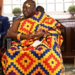 #Phoobiaa Otumfuor himself in @HeartsOfOakGH colours this morning .. Hearts is his 1st love . @AsanteKotoko_SC ???????????? https://t.co/7HCyg2QydX