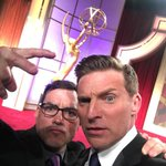 Emmy love with my bro @steveburton. #daytimeemmys. https://t.co/x18eEex7P6