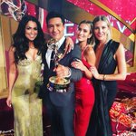 Amazing night celebrating @extratv #DaytimeEmmys win w @MarioLopezExtra @CharissaT & @ReneeBargh! Love them SOmuch! https://t.co/jmXyEBJXwF