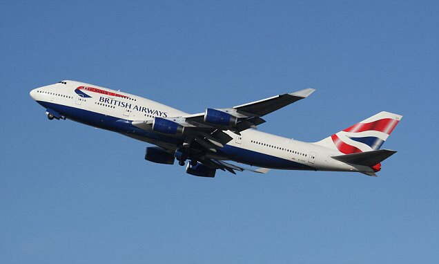 British Airways flight over Hungary is intercepted by fighter jets