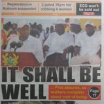 The Ghanaian Times: It shall be well... Prez assures workers complain one about cost of living. #JoySMS https://t.co/NlULQ5V22Q
