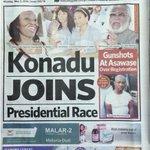 Daily Guide: Konadu joins presidential race #CitiCBS https://t.co/2OjNrDG9XZ