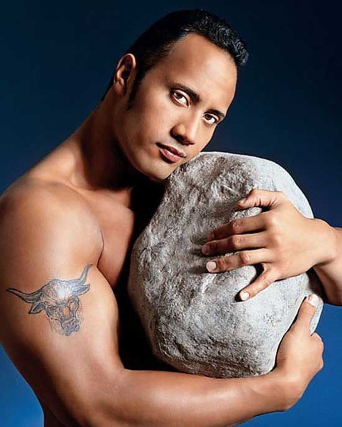 To celebrate the rock 39 s 44th birthday today here 39 s a for La roca film