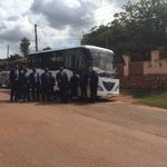 #KayoolaSolarBus team ready for another road drill with MPs @Parliament_UG https://t.co/a5v5YQ6OzJ