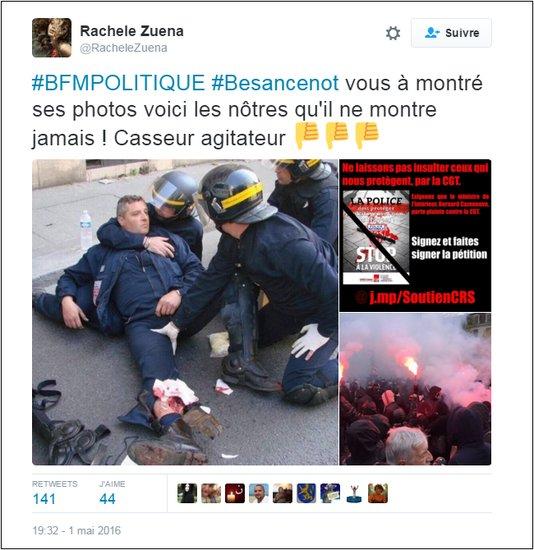 RT @AdrienSnk Les fausses photos des manifs du 1er mai contre la #loitravail https://t.co/d1V2VoZQHQ https://t.co/89XRjwk2uV