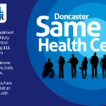 Need to see a GP this #bankholiday #monday? Try the #Doncasterisgreat Same Day Health Centre #choosewell https://t.co/nkVLuF99bu