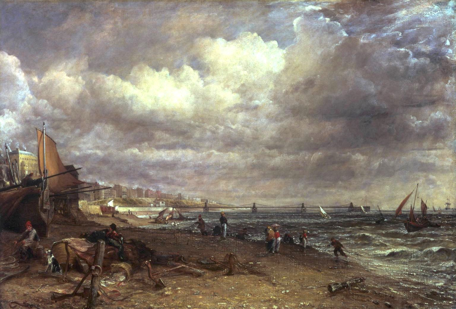 Chain Pier Brighton by John Constable 1826-27 Oil on Canvas (@Tate) https://t.co/ynDmfzhKBj