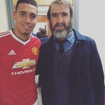 Great to meet the #king after the game yesterday! #legend #7 @ManUtd https://t.co/Oha2eDZr7j