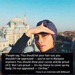 Apa kata Yuna pasal pakai bukak tudung ya. https://t.co/bJGLLewfXP
