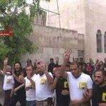 المظاهرة دى كانت من سنتين فى #حلب ضد احكام الاعدام على المئات من الاخوان المسلمين في مصر ..!! #حلب_تحترق https://t.co/4HgltZBQST