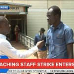 A crippling non-teaching staff strike over pay at @MakerereU enters Day 2 as students threaten to join in. #NBSNow https://t.co/x4F84W8ikf