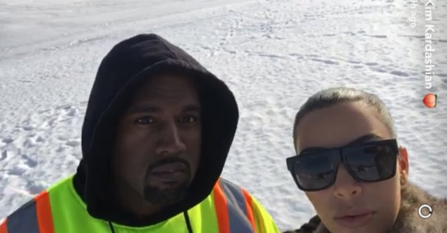 OMG. @KimKardashian and Kanye West's holiday emergency sounded *terrifying*...